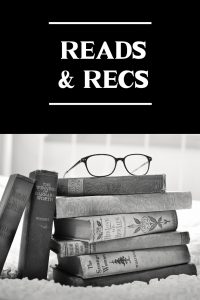 V.L. Locey, Reads & Recs