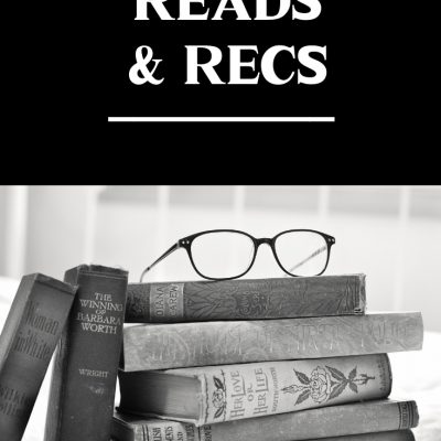 Reads and Recs – October 2019