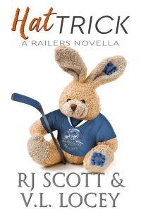 V.L. Locey, Hockey Romance, RJ Scott, MM Romance, Harrisburg Railers