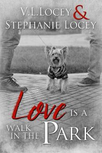 Love Is A Walk In Park, Stephanie Locey, V.L. Locey, Gay Romance, MM Romance
