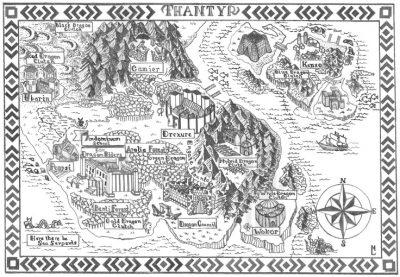 Misty Harvey, Map
