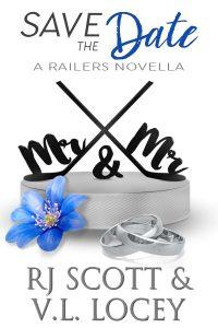V.L. Locey, MM Romance, Gay Romance, Hockey Romance