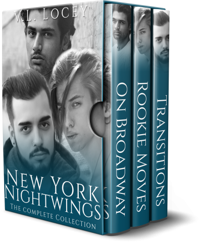 Nightwings, V.L. Locey, MM Romance, Hockey Romance