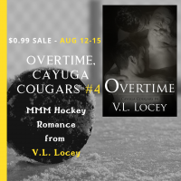 V.L. Locey, Cayuga Cougars, MMM Romance