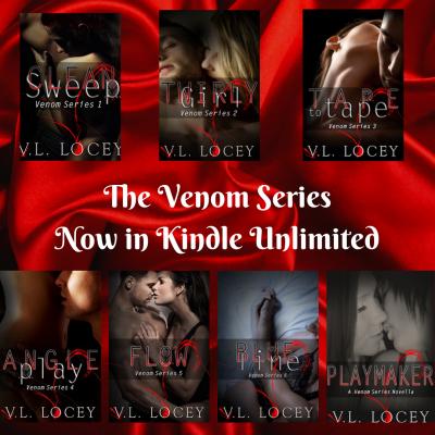 Venom Series, V.L. Locey, Hockey Romance