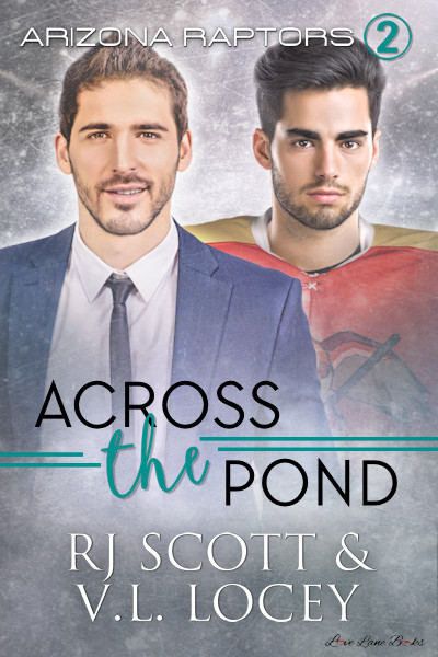 V.L. Locey, Hockey Romance, Gay Romance, RJ Scott
