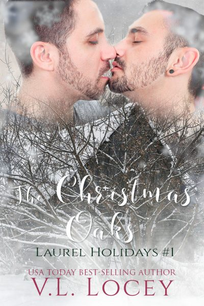 The Christmas Oaks, V.L. Locey, MM Romance, Gay Romance