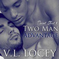 Two Man Advantage, Audiobook, Hockey Romance, MM Romance, V.L. Locey