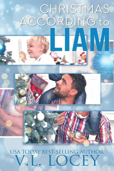 Christmas According To Liam, MM Romance, V.L. Locey