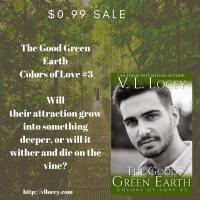 Good Green Earth, V.L. Locey, Gay Romance
