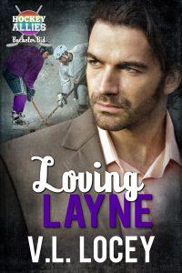 V.L. Locey, Loving Layne, MM Romance