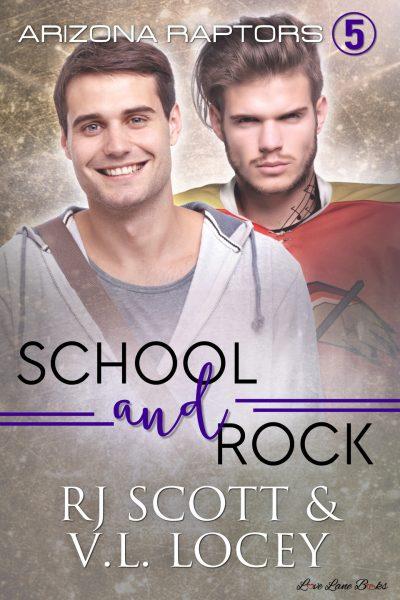 V.L. Locey, RJ Scott, MM Romance, Hockey Romance