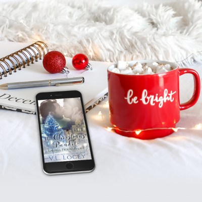 The Christmas Pundit (Laurel Holidays #2) – COVER REVEAL!